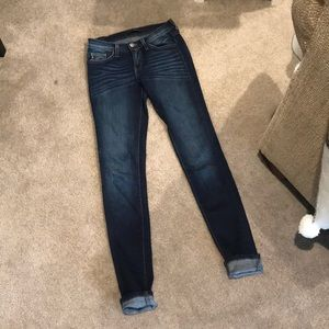 Kancan Estilo Dark Wash Skinny Jeans Superstretch